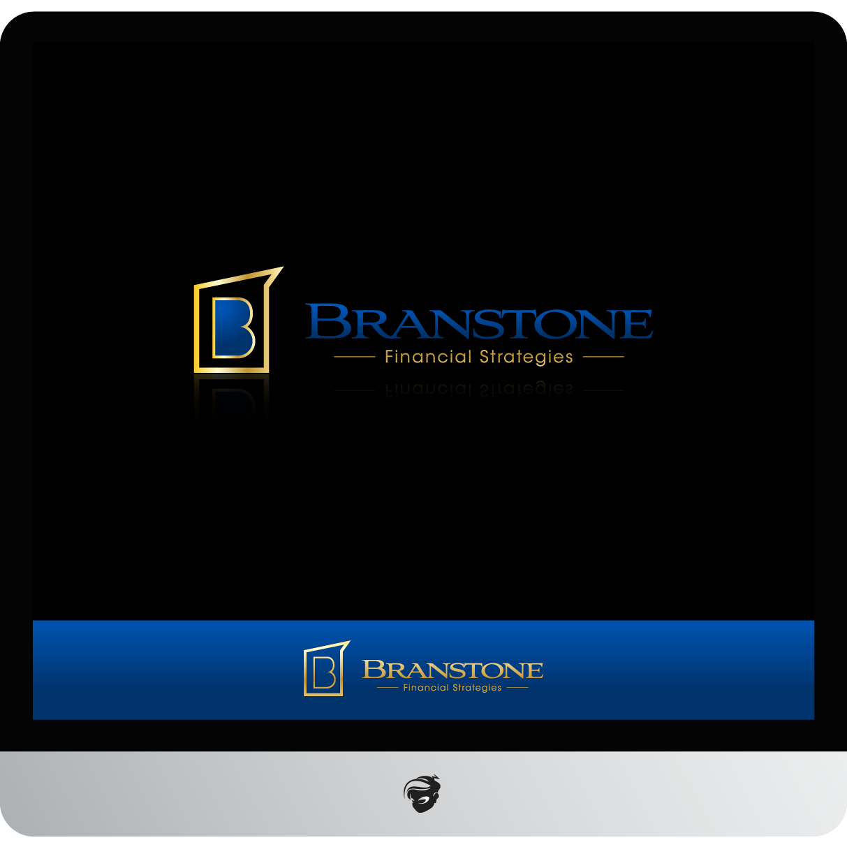 Logo Design by zesthar - Entry No. 228 in the Logo Design Contest Inspiring Logo Design for Branstone Financial Strategies.