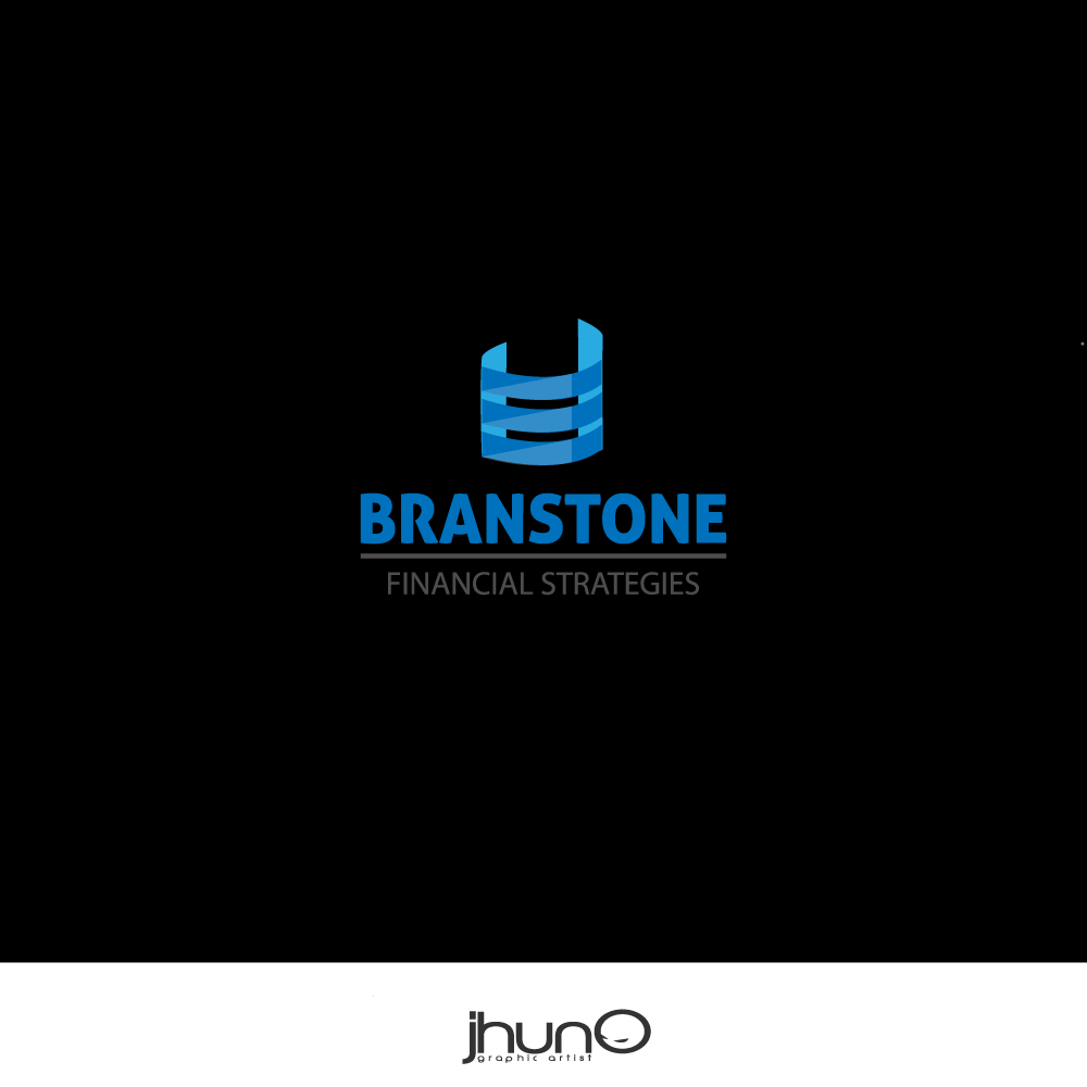 Logo Design by zesthar - Entry No. 231 in the Logo Design Contest Inspiring Logo Design for Branstone Financial Strategies.