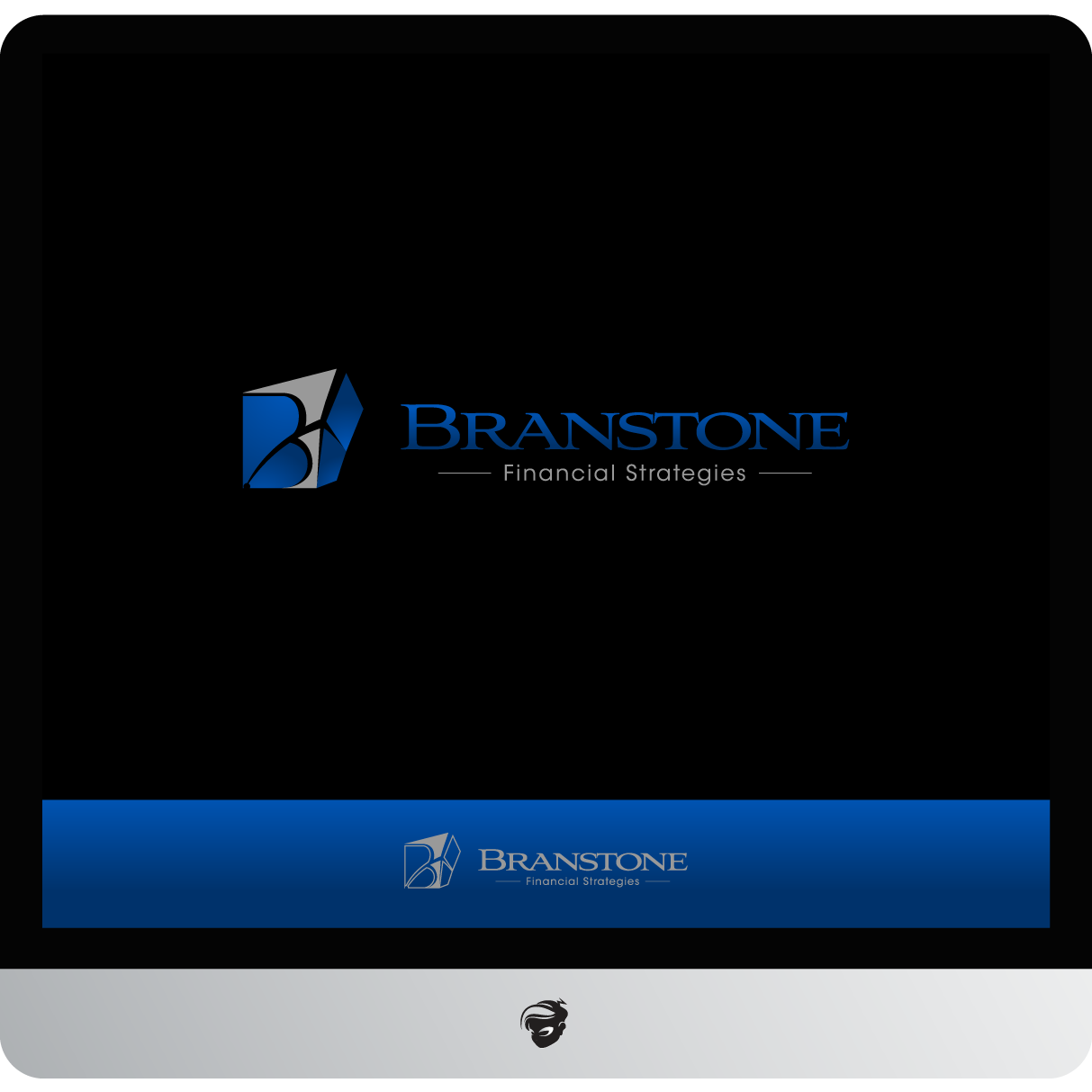 Logo Design by zesthar - Entry No. 232 in the Logo Design Contest Inspiring Logo Design for Branstone Financial Strategies.