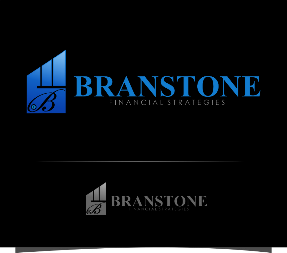 Logo Design by RasYa Muhammad Athaya - Entry No. 235 in the Logo Design Contest Inspiring Logo Design for Branstone Financial Strategies.