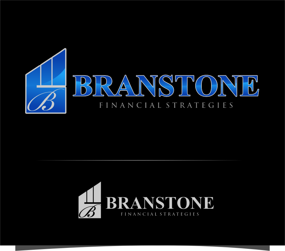 Logo Design by Ngepet_art - Entry No. 239 in the Logo Design Contest Inspiring Logo Design for Branstone Financial Strategies.
