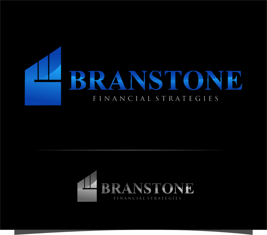 Logo Design by Ngepet_art - Entry No. 240 in the Logo Design Contest Inspiring Logo Design for Branstone Financial Strategies.