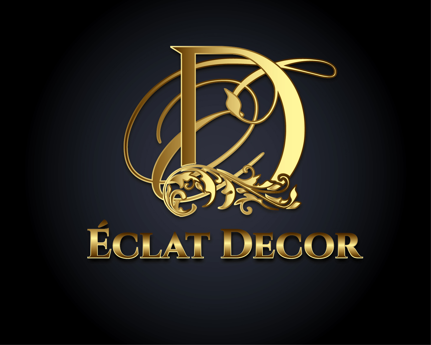 Logo Design by VENTSISLAV KOVACHEV - Entry No. 17 in the Logo Design Contest Imaginative Logo Design for Éclat Decor.