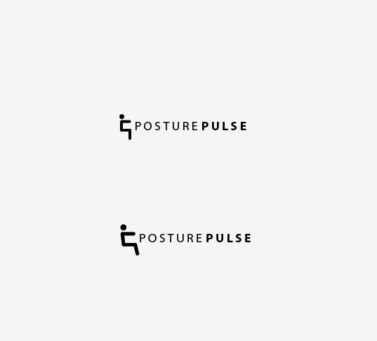 Logo Design by Alexandre - Entry No. 27 in the Logo Design Contest Unique Logo Design Wanted for PosturePulse.
