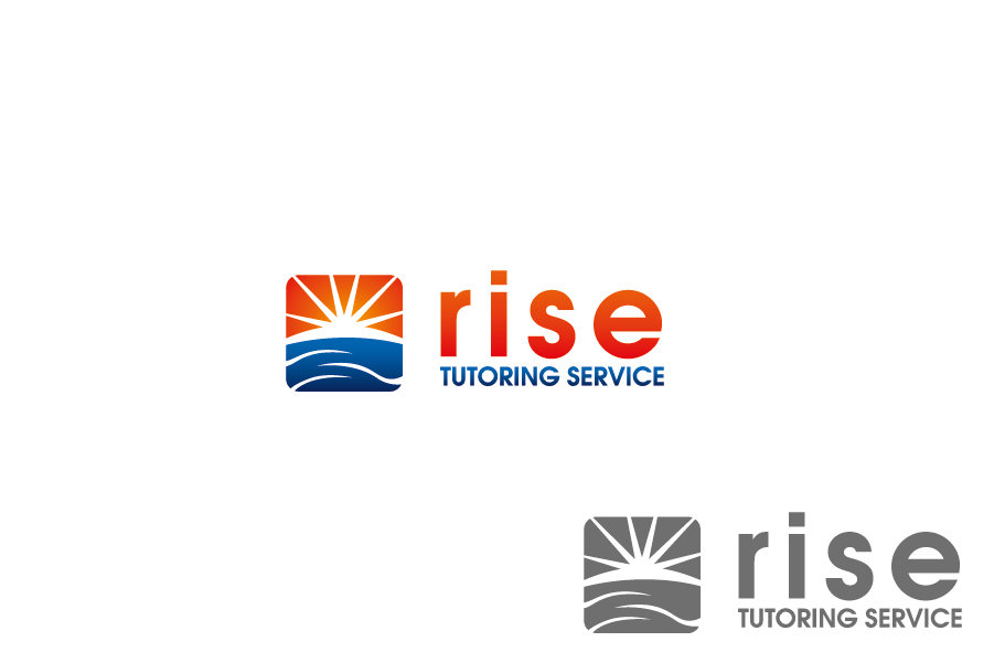 Logo Design by Private User - Entry No. 58 in the Logo Design Contest Imaginative Logo Design for Rise Tutoring Service.
