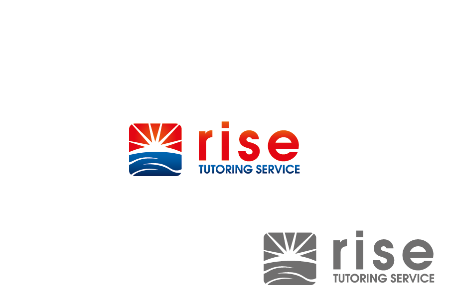 Logo Design by Private User - Entry No. 59 in the Logo Design Contest Imaginative Logo Design for Rise Tutoring Service.