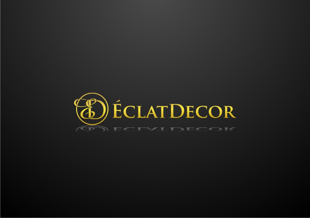 Logo Design by untung - Entry No. 19 in the Logo Design Contest Imaginative Logo Design for Éclat Decor.