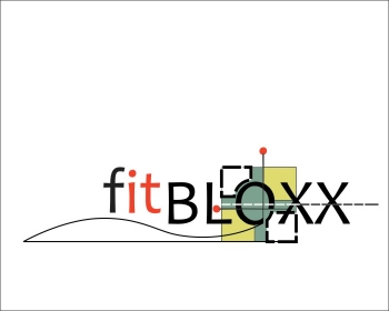 Logo Design by Ermenegildo - Entry No. 100 in the Logo Design Contest FitBloxx (creating block fits for the apparel industry).