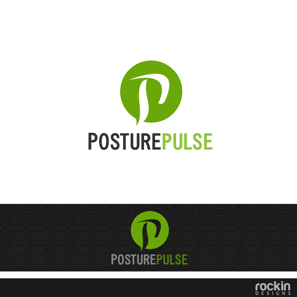 Logo Design by rockin - Entry No. 37 in the Logo Design Contest Unique Logo Design Wanted for PosturePulse.