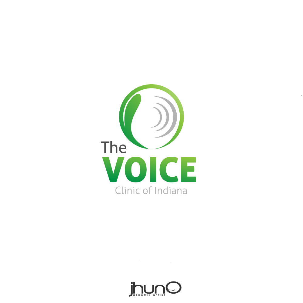 Logo Design by zesthar - Entry No. 6 in the Logo Design Contest Logo Design for The Voice Clinic of Indiana.