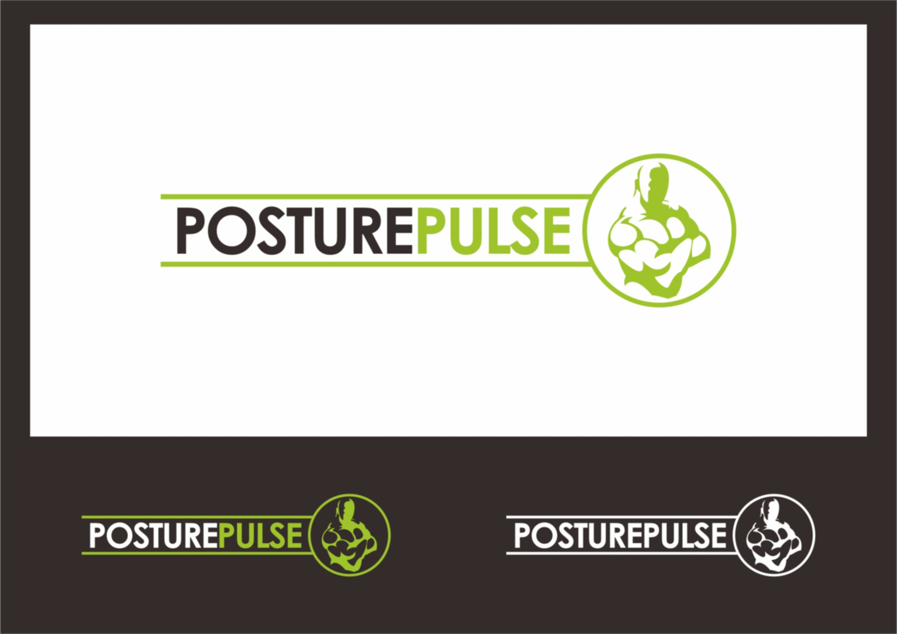 Logo Design by Private User - Entry No. 43 in the Logo Design Contest Unique Logo Design Wanted for PosturePulse.