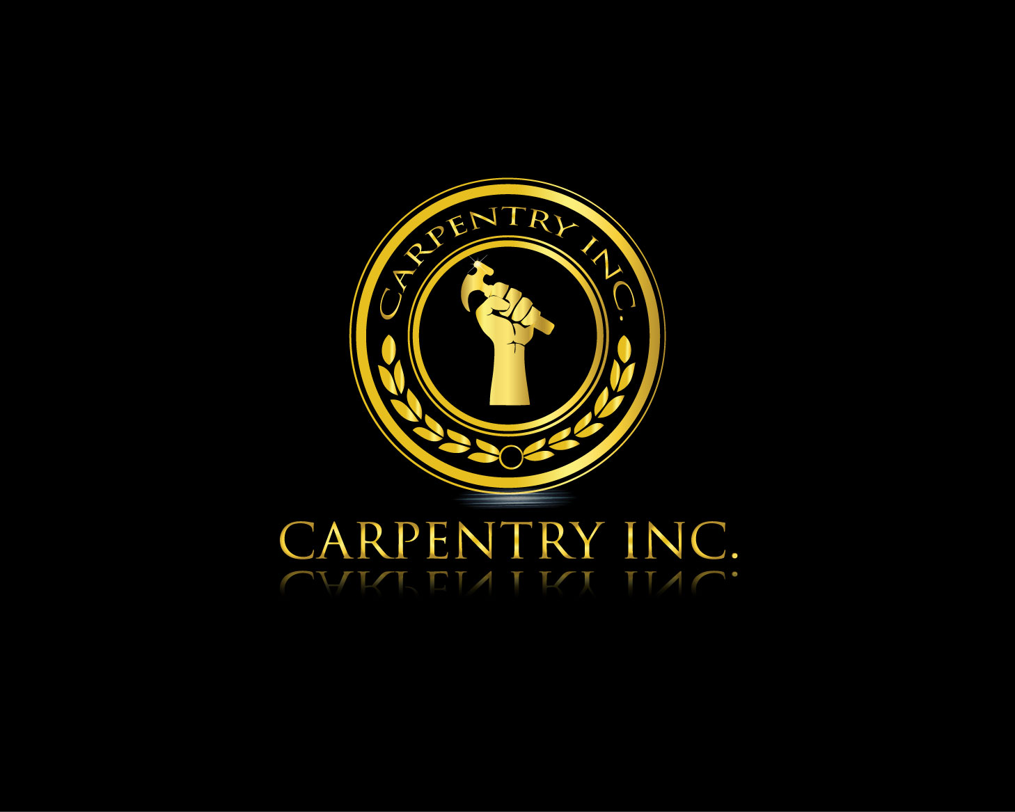 Logo Design by Rowel Samson - Entry No. 41 in the Logo Design Contest Creative Logo Design for Carpentry inc..