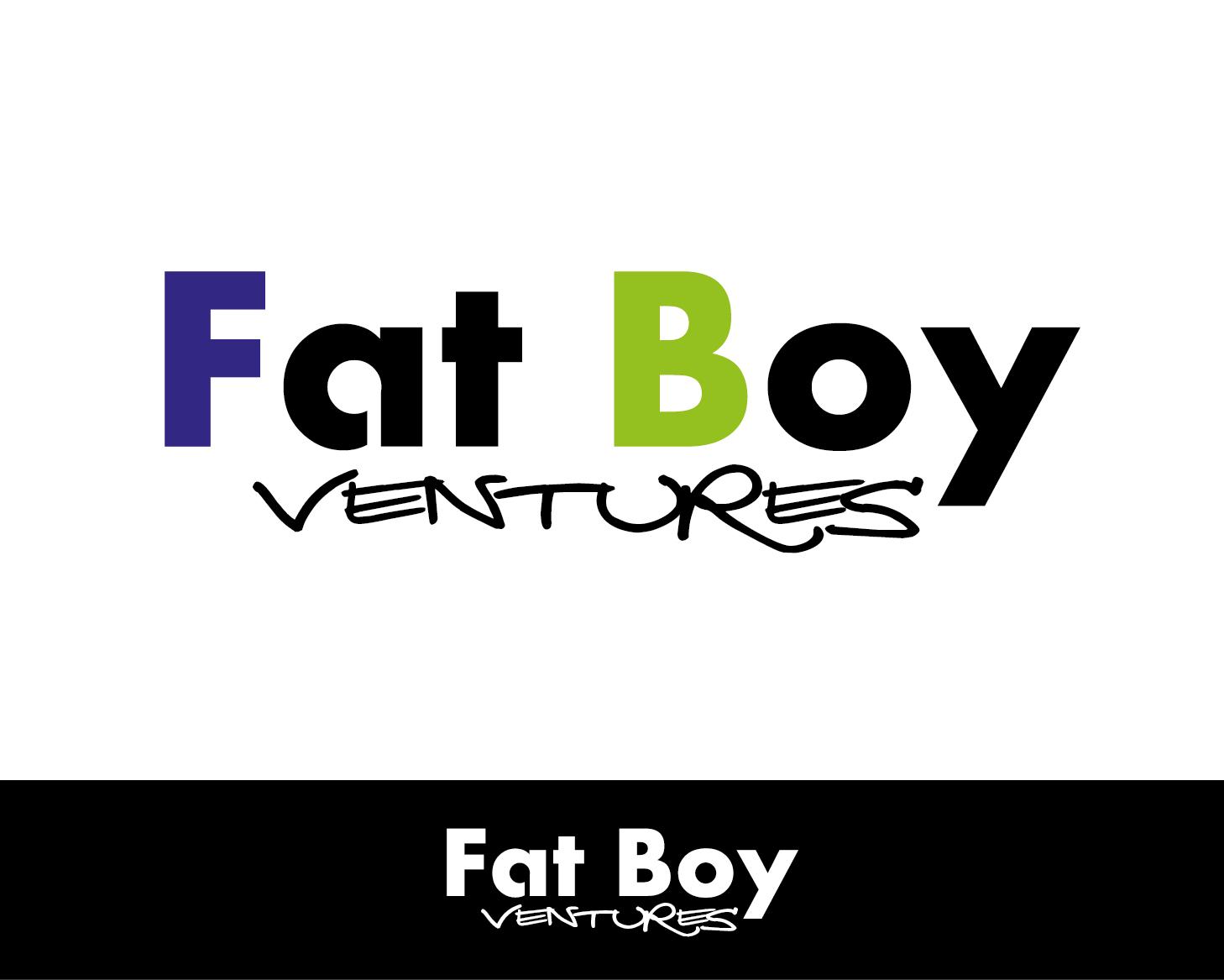 Logo Design by VENTSISLAV KOVACHEV - Entry No. 31 in the Logo Design Contest Fun Logo Design for Fat Boy Ventures.