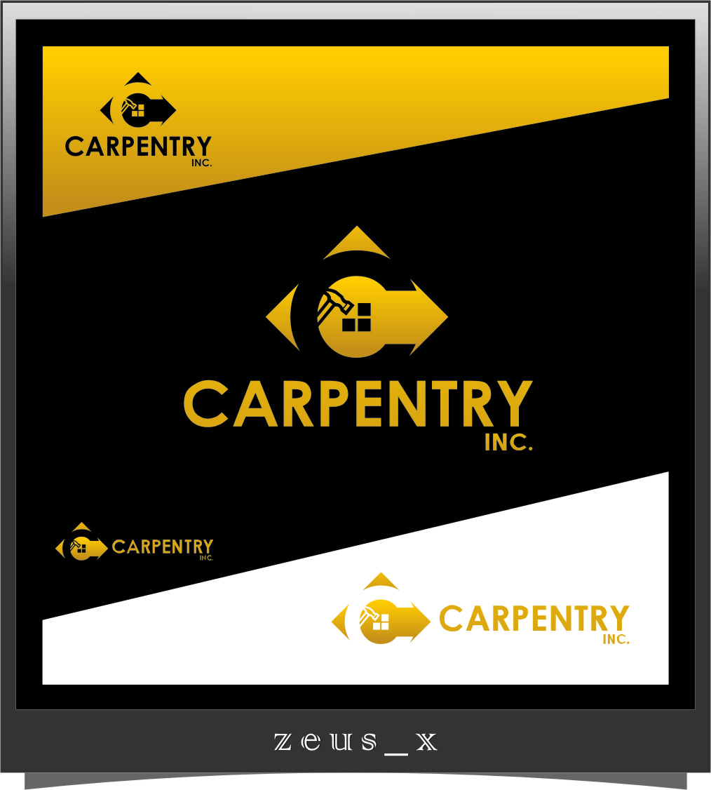Logo Design by RasYa Muhammad Athaya - Entry No. 46 in the Logo Design Contest Creative Logo Design for Carpentry inc..