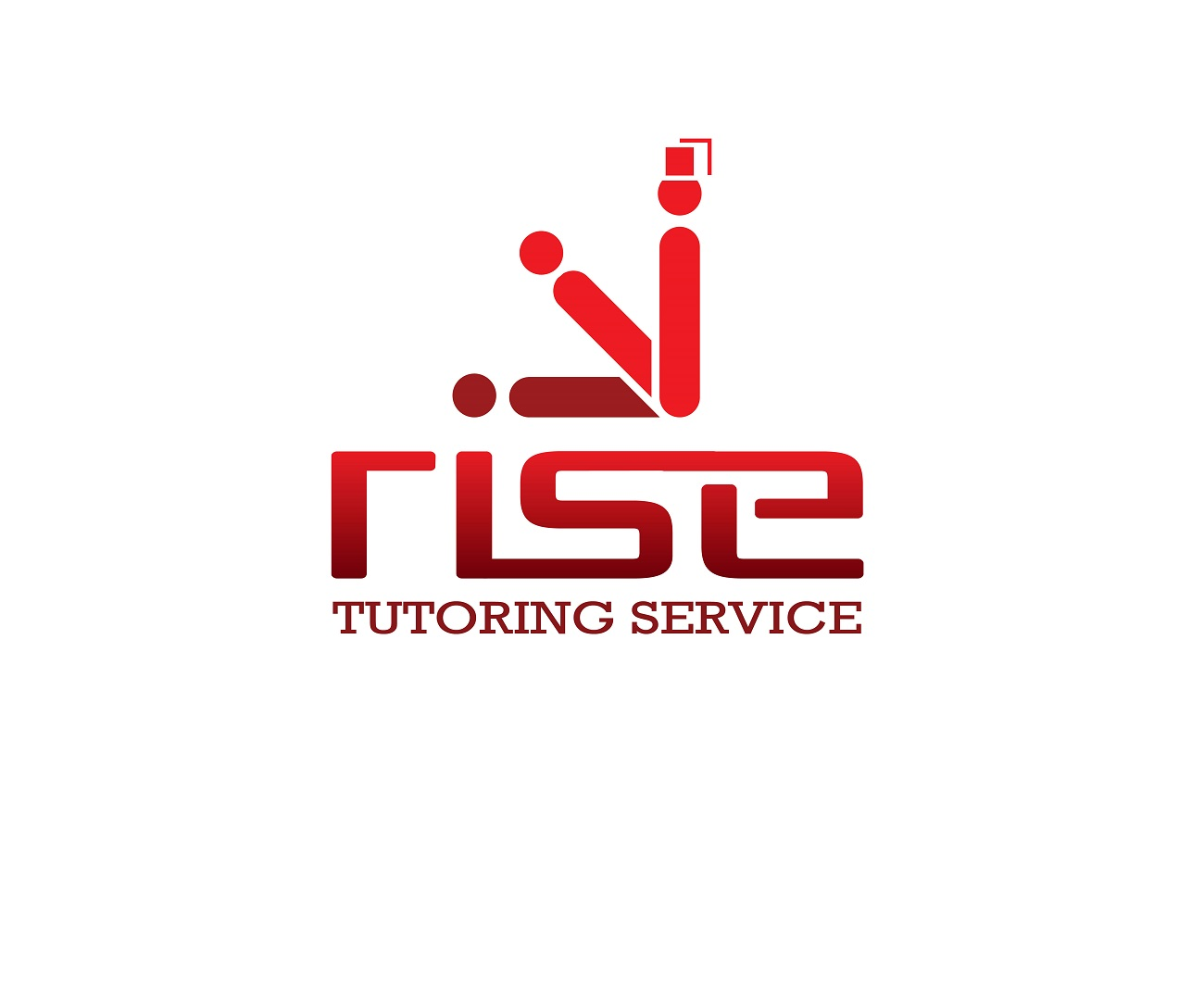 Logo Design by jhunzkie24 - Entry No. 67 in the Logo Design Contest Imaginative Logo Design for Rise Tutoring Service.