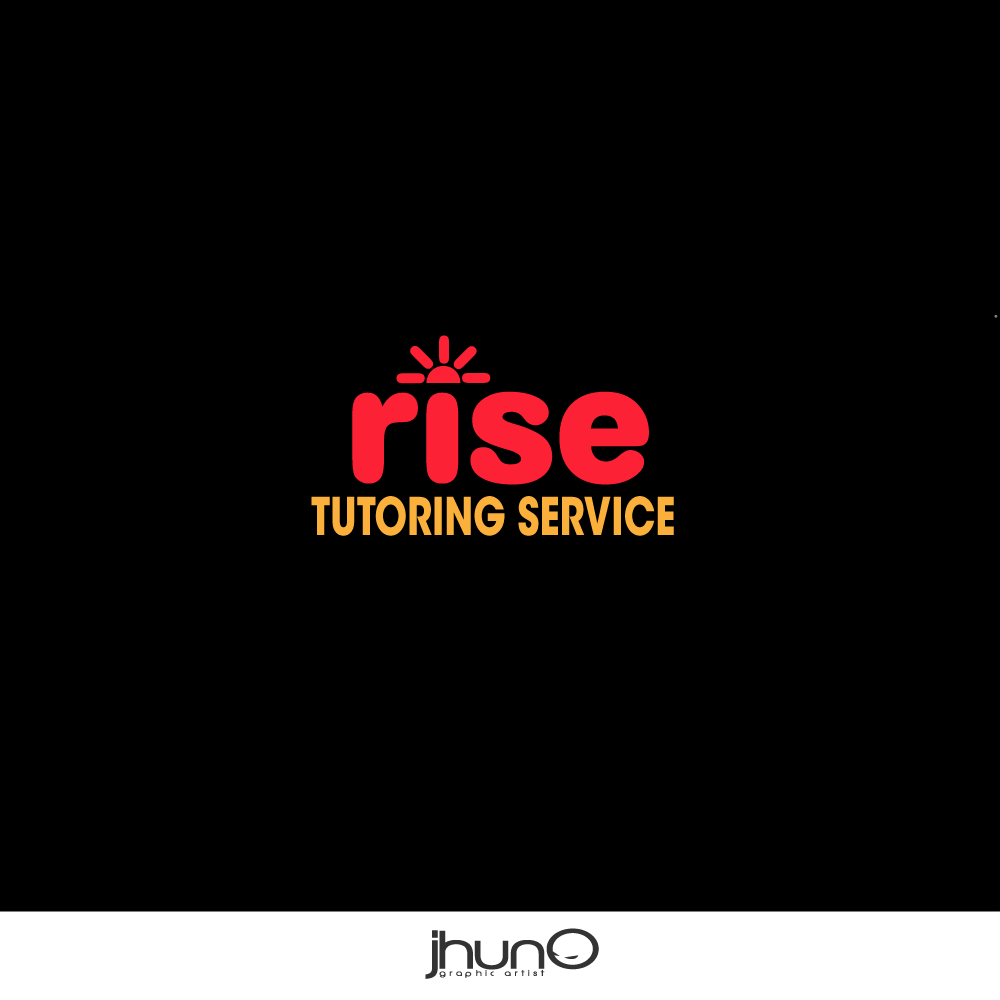 Logo Design by zesthar - Entry No. 68 in the Logo Design Contest Imaginative Logo Design for Rise Tutoring Service.