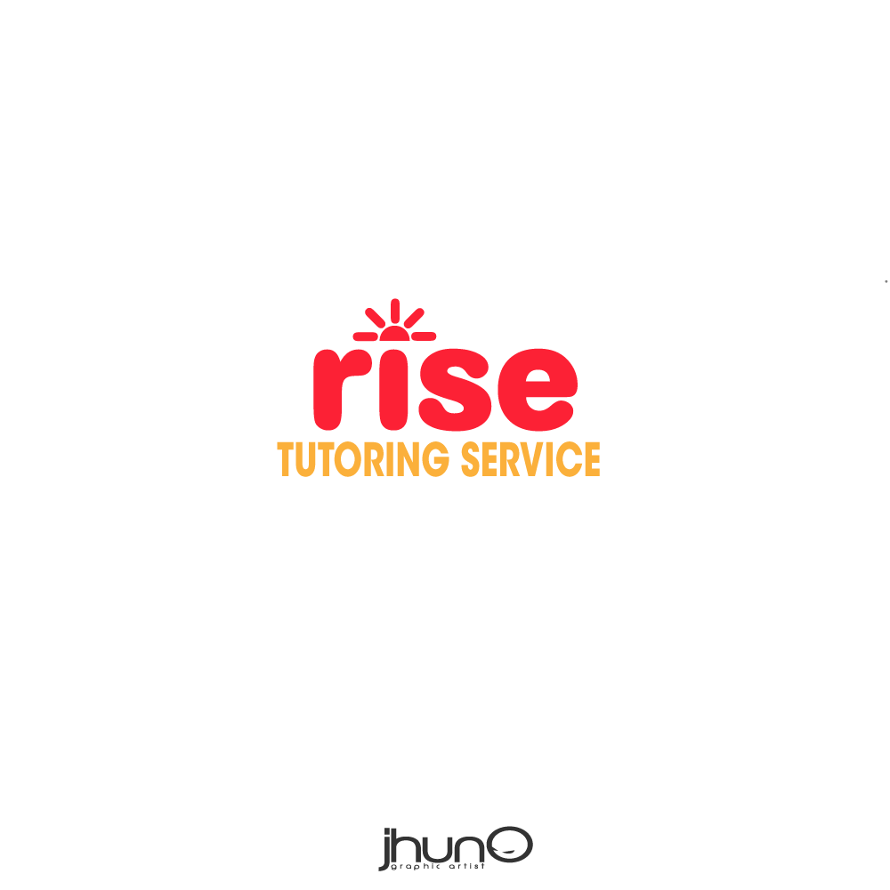 Logo Design by zesthar - Entry No. 69 in the Logo Design Contest Imaginative Logo Design for Rise Tutoring Service.