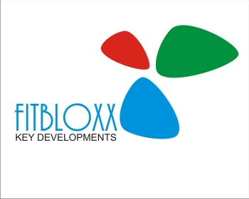 Logo Design by SquaredDesign - Entry No. 101 in the Logo Design Contest FitBloxx (creating block fits for the apparel industry).