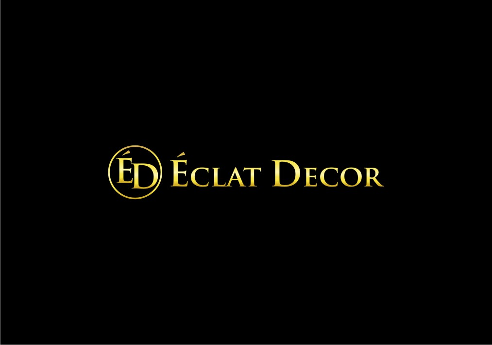 Logo Design by untung - Entry No. 22 in the Logo Design Contest Imaginative Logo Design for Éclat Decor.