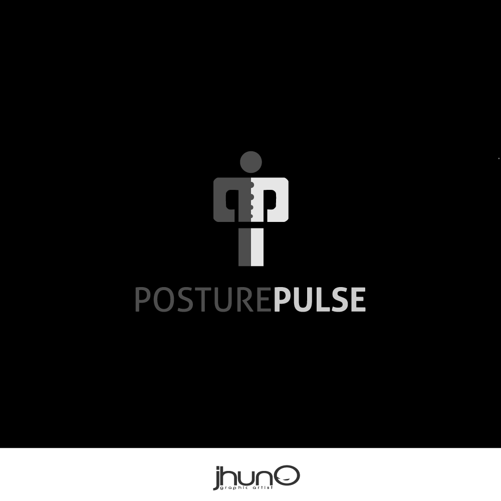 Logo Design by zesthar - Entry No. 44 in the Logo Design Contest Unique Logo Design Wanted for PosturePulse.