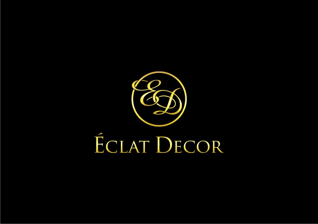 Logo Design by untung - Entry No. 24 in the Logo Design Contest Imaginative Logo Design for Éclat Decor.