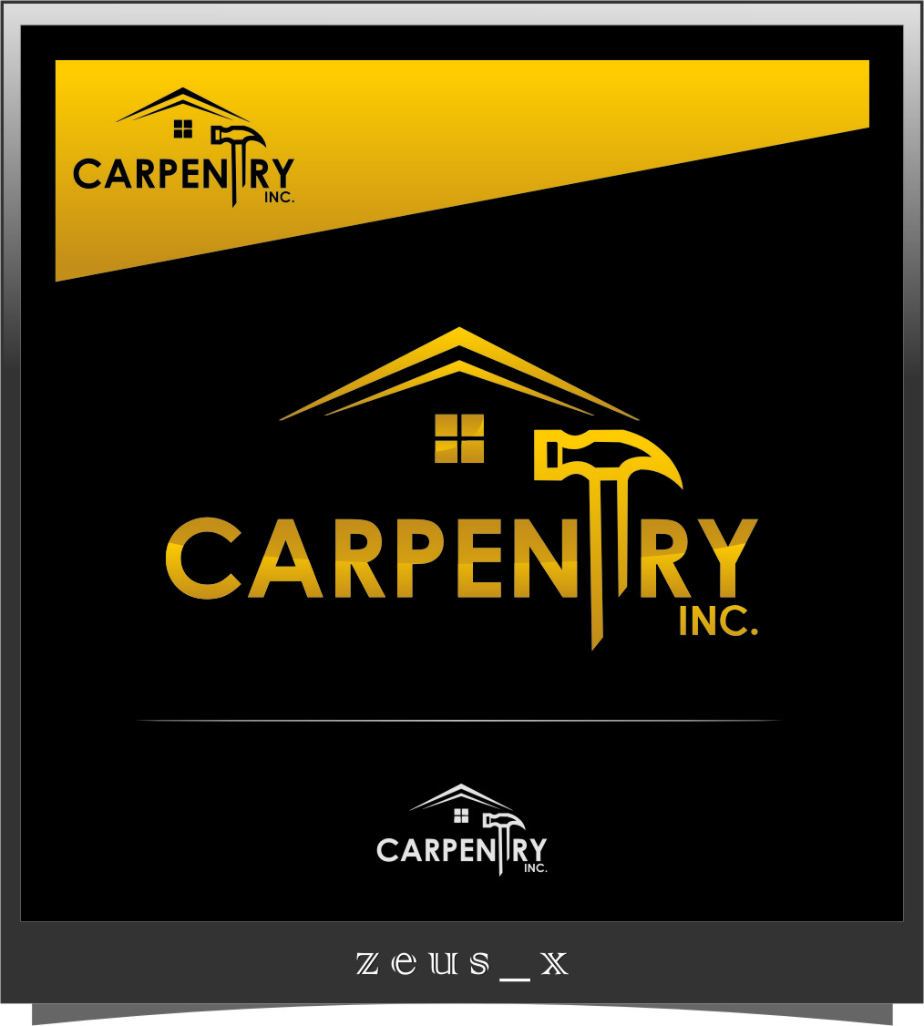 Logo Design by RasYa Muhammad Athaya - Entry No. 48 in the Logo Design Contest Creative Logo Design for Carpentry inc..