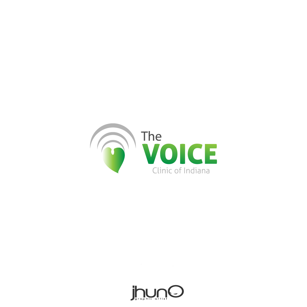 Logo Design by zesthar - Entry No. 7 in the Logo Design Contest Logo Design for The Voice Clinic of Indiana.