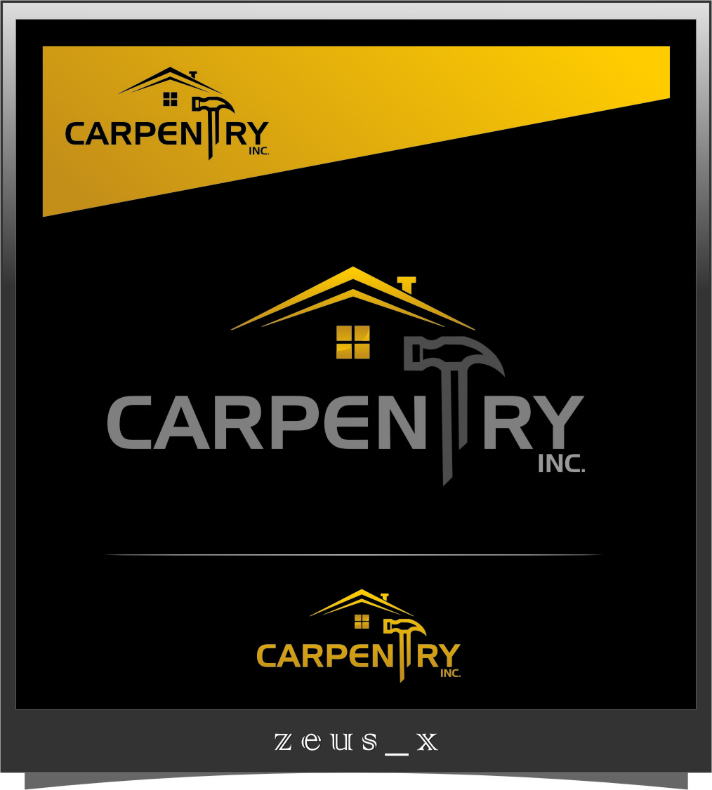 Logo Design by RasYa Muhammad Athaya - Entry No. 49 in the Logo Design Contest Creative Logo Design for Carpentry inc..