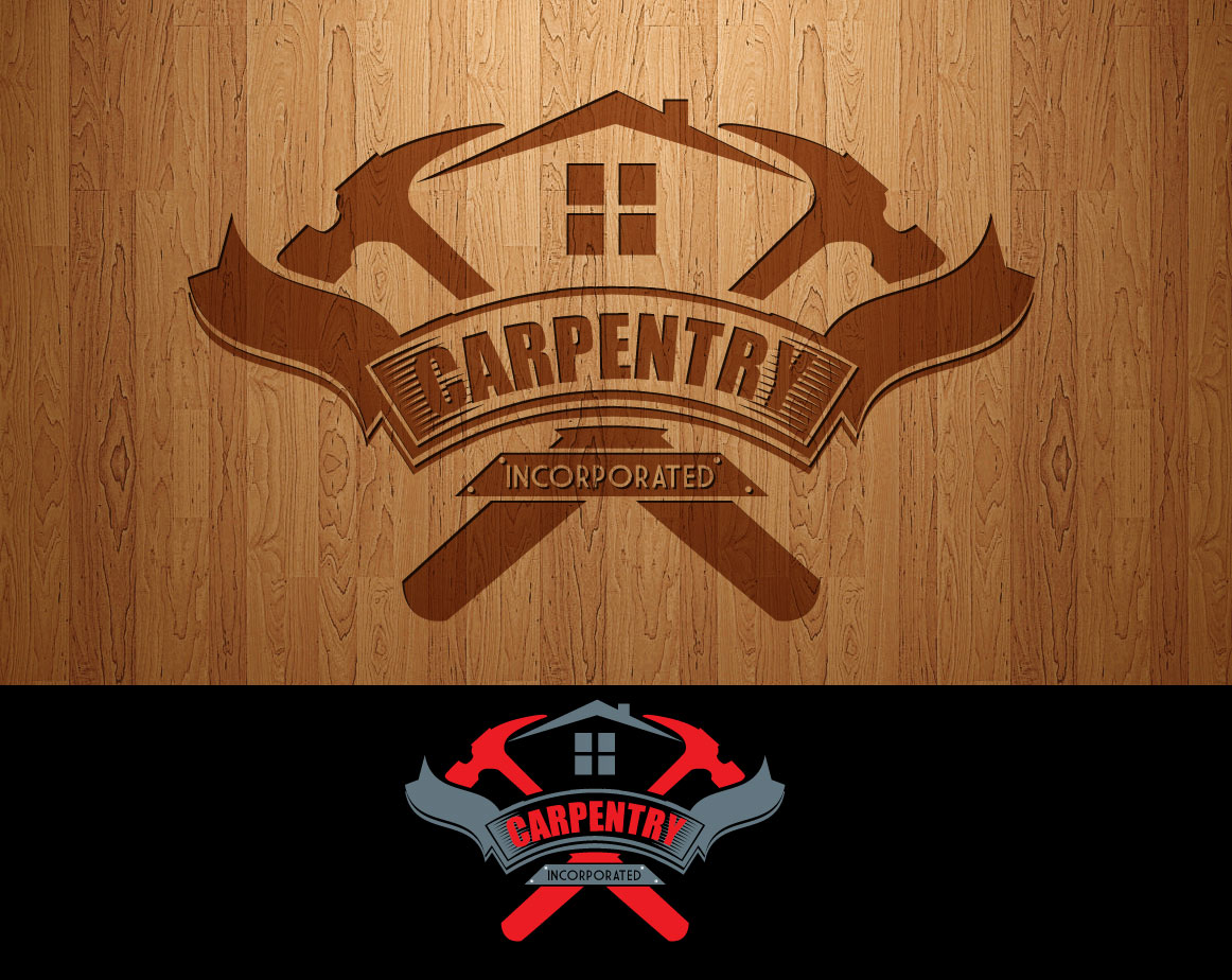 Logo Design by lagalag - Entry No. 50 in the Logo Design Contest Creative Logo Design for Carpentry inc..