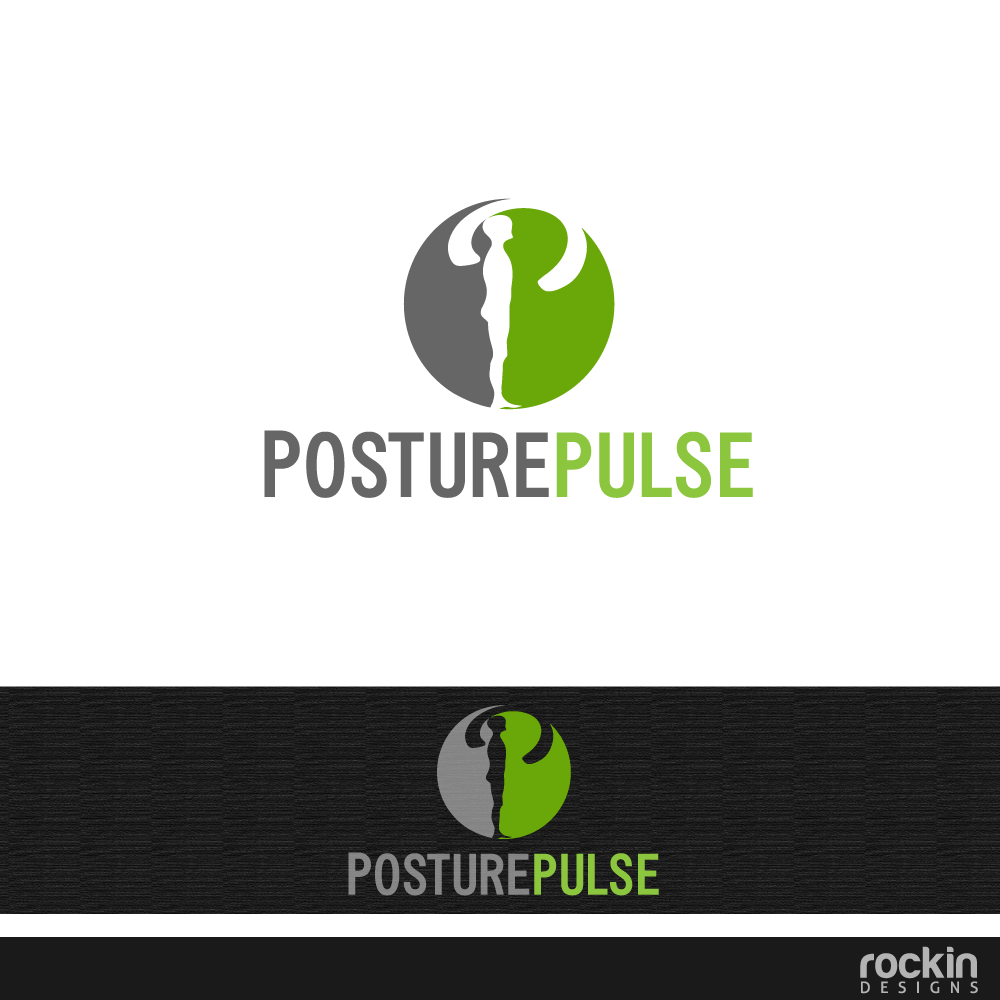 Logo Design by rockin - Entry No. 46 in the Logo Design Contest Unique Logo Design Wanted for PosturePulse.