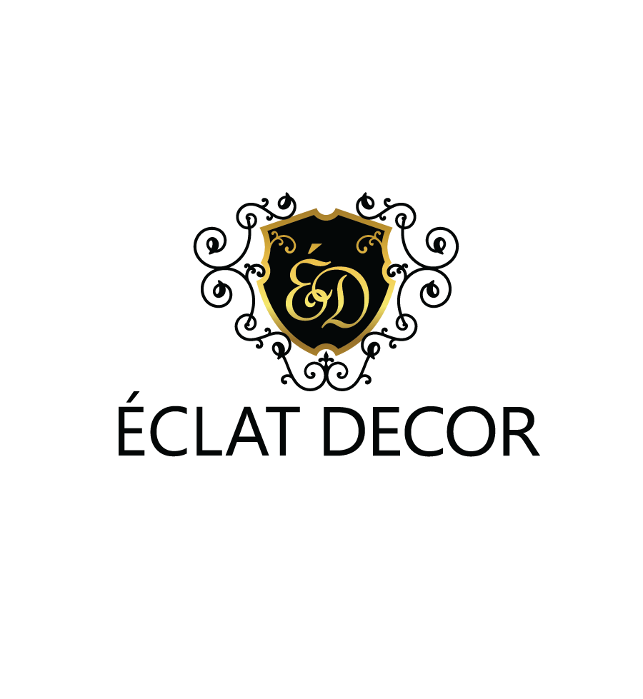 Logo Design by Christina Evans - Entry No. 25 in the Logo Design Contest Imaginative Logo Design for Éclat Decor.