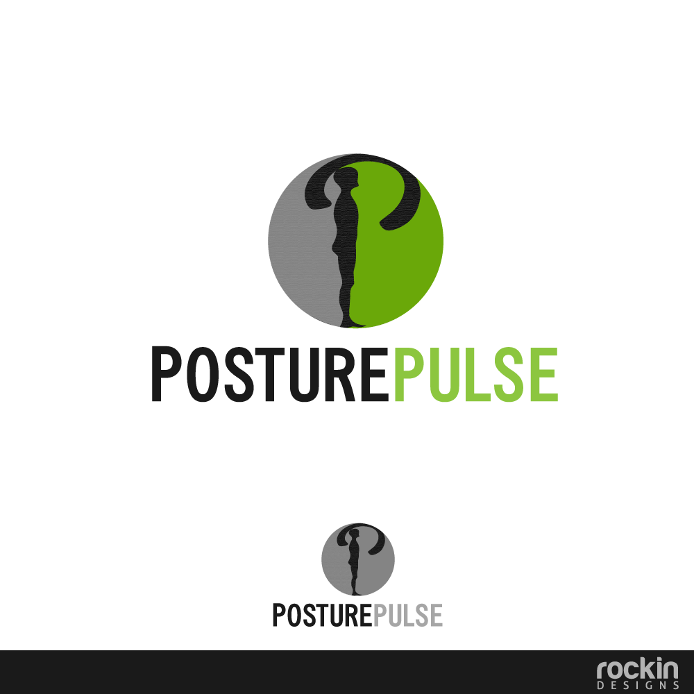 Logo Design by rockin - Entry No. 47 in the Logo Design Contest Unique Logo Design Wanted for PosturePulse.