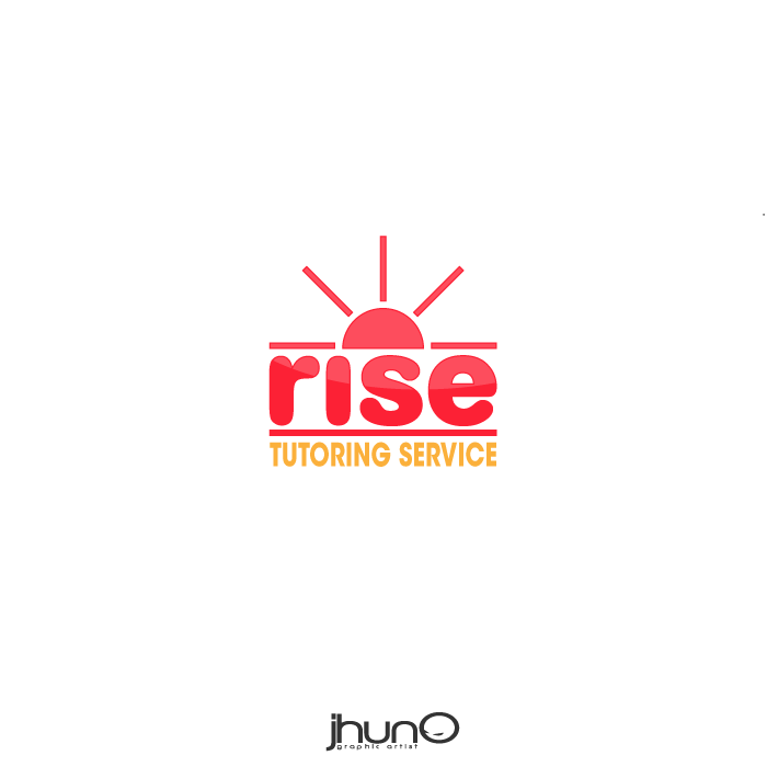 Logo Design by zesthar - Entry No. 74 in the Logo Design Contest Imaginative Logo Design for Rise Tutoring Service.