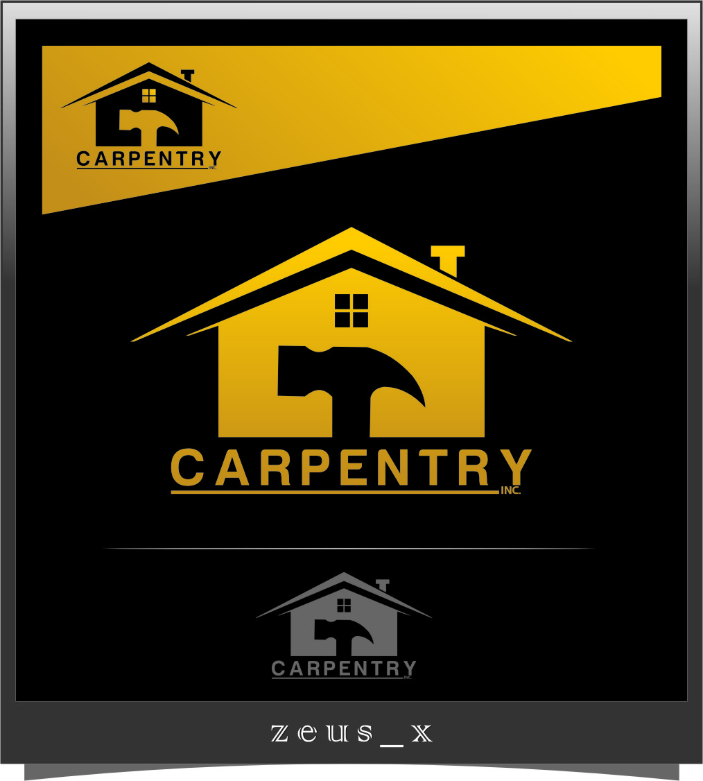 Logo Design by Ngepet_art - Entry No. 54 in the Logo Design Contest Creative Logo Design for Carpentry inc..