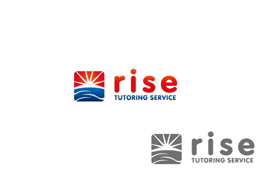 Logo Design by Private User - Entry No. 79 in the Logo Design Contest Imaginative Logo Design for Rise Tutoring Service.