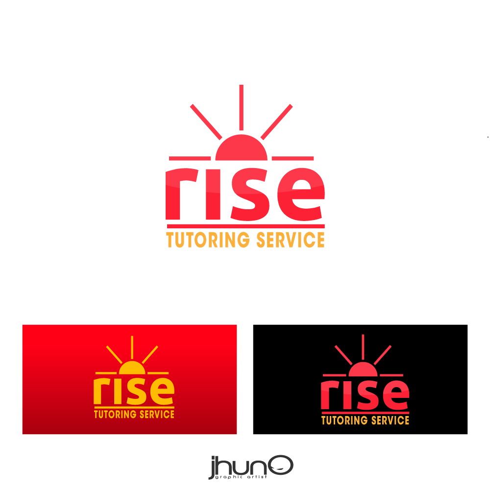 Logo Design by zesthar - Entry No. 80 in the Logo Design Contest Imaginative Logo Design for Rise Tutoring Service.