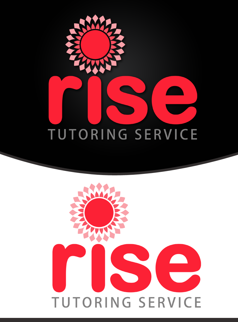 Logo Design by Private User - Entry No. 81 in the Logo Design Contest Imaginative Logo Design for Rise Tutoring Service.