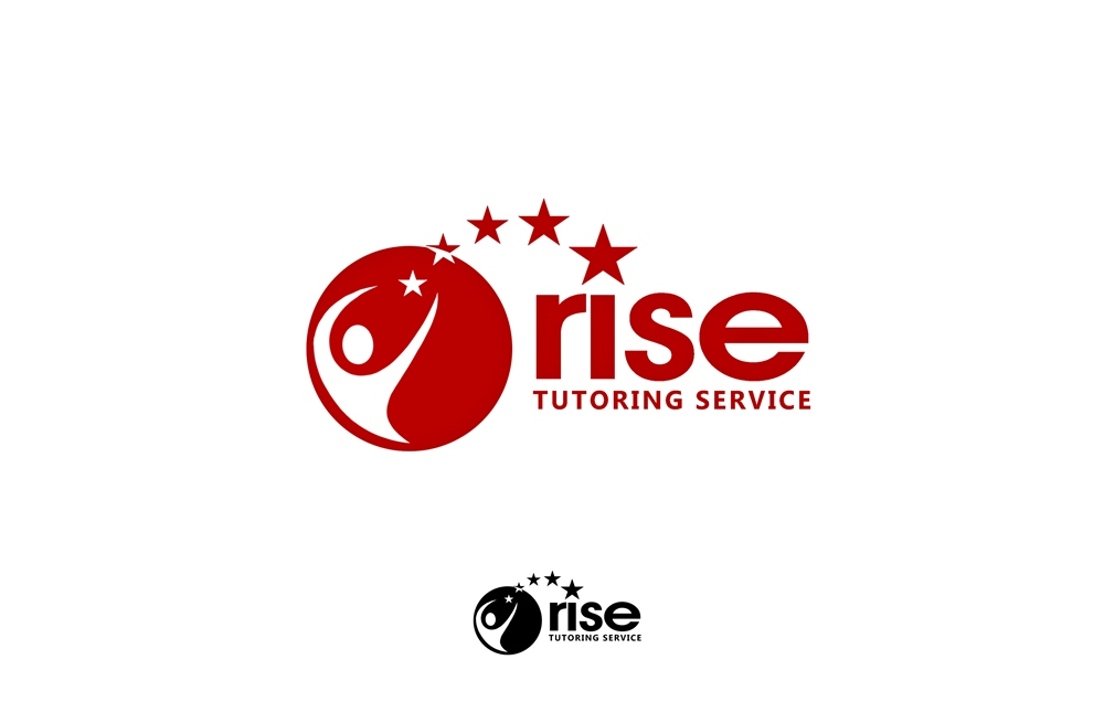 Logo Design by Respati Himawan - Entry No. 82 in the Logo Design Contest Imaginative Logo Design for Rise Tutoring Service.