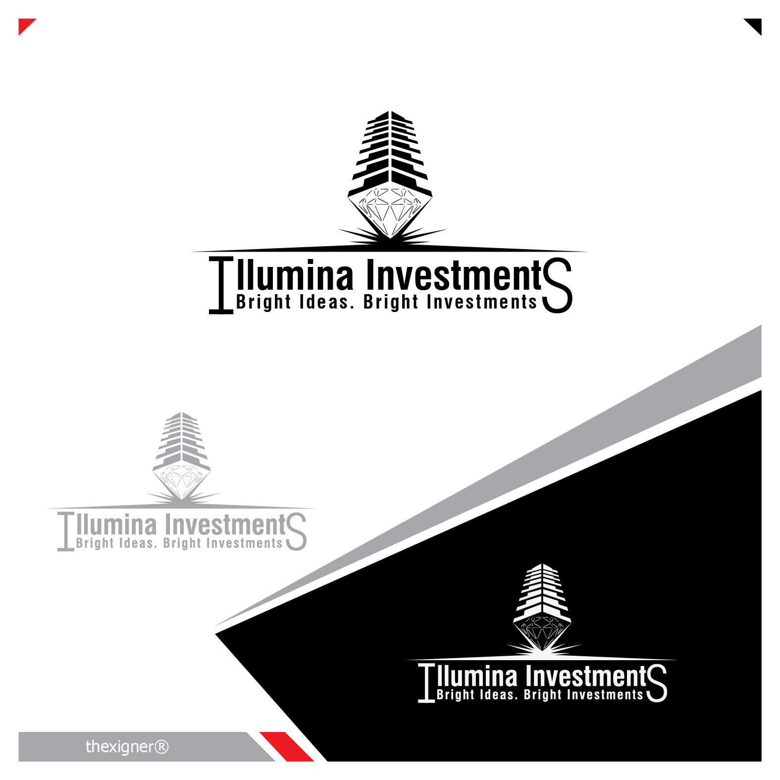 Logo Design by lagalag - Entry No. 64 in the Logo Design Contest Creative Logo Design for Illumina Investments.
