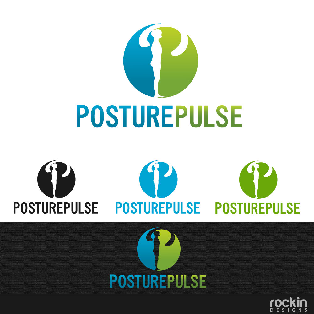 Logo Design by rockin - Entry No. 57 in the Logo Design Contest Unique Logo Design Wanted for PosturePulse.