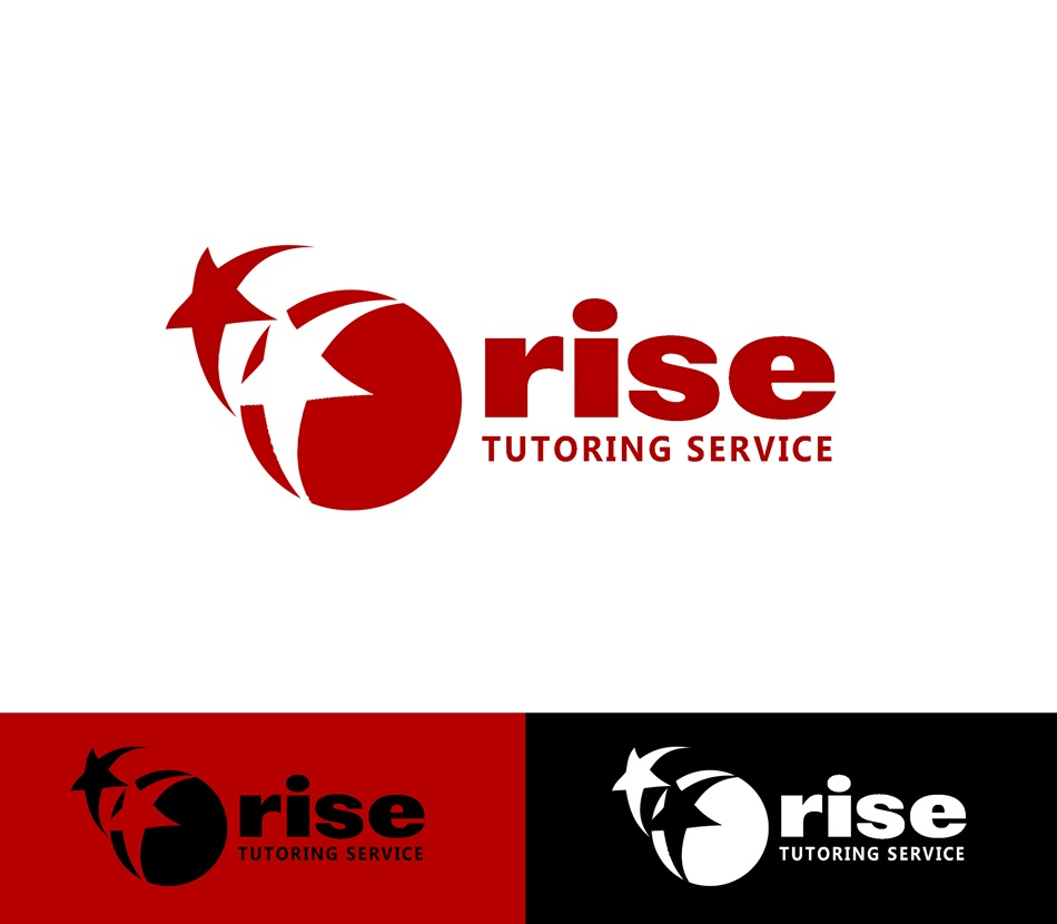 Logo Design by Respati Himawan - Entry No. 85 in the Logo Design Contest Imaginative Logo Design for Rise Tutoring Service.