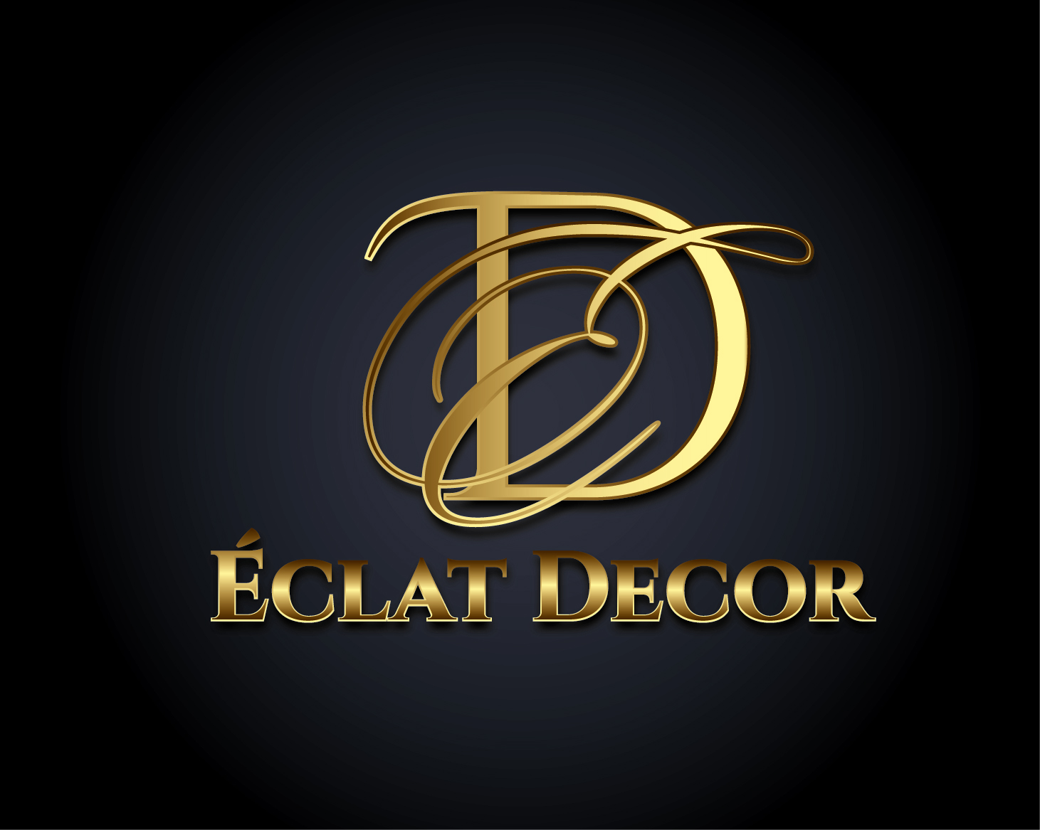 Logo Design by VENTSISLAV KOVACHEV - Entry No. 26 in the Logo Design Contest Imaginative Logo Design for Éclat Decor.