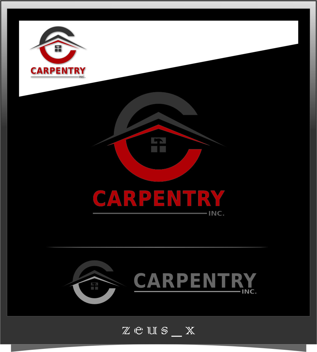 Logo Design by Ngepet_art - Entry No. 55 in the Logo Design Contest Creative Logo Design for Carpentry inc..