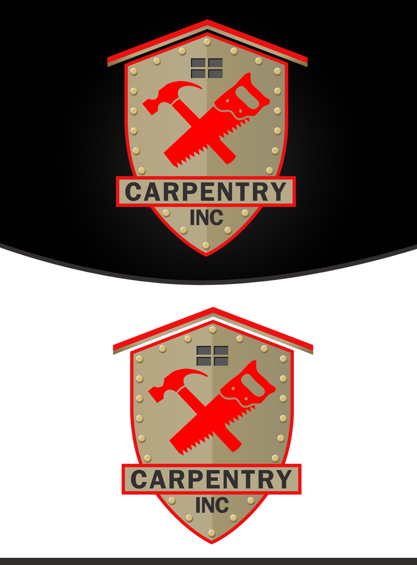 Logo Design by Private User - Entry No. 56 in the Logo Design Contest Creative Logo Design for Carpentry inc..