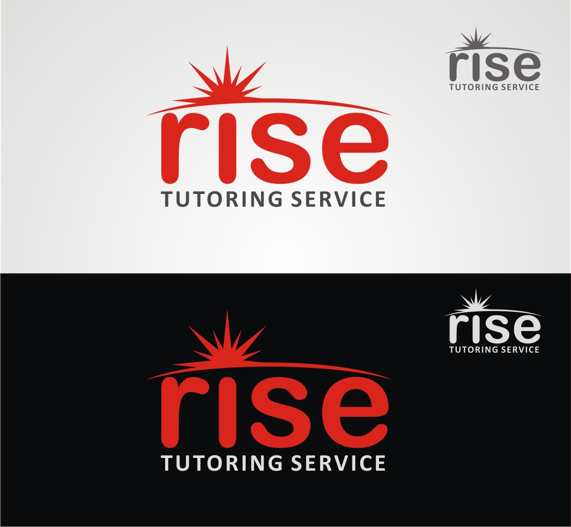 Logo Design by Reivan Ferdinan - Entry No. 93 in the Logo Design Contest Imaginative Logo Design for Rise Tutoring Service.