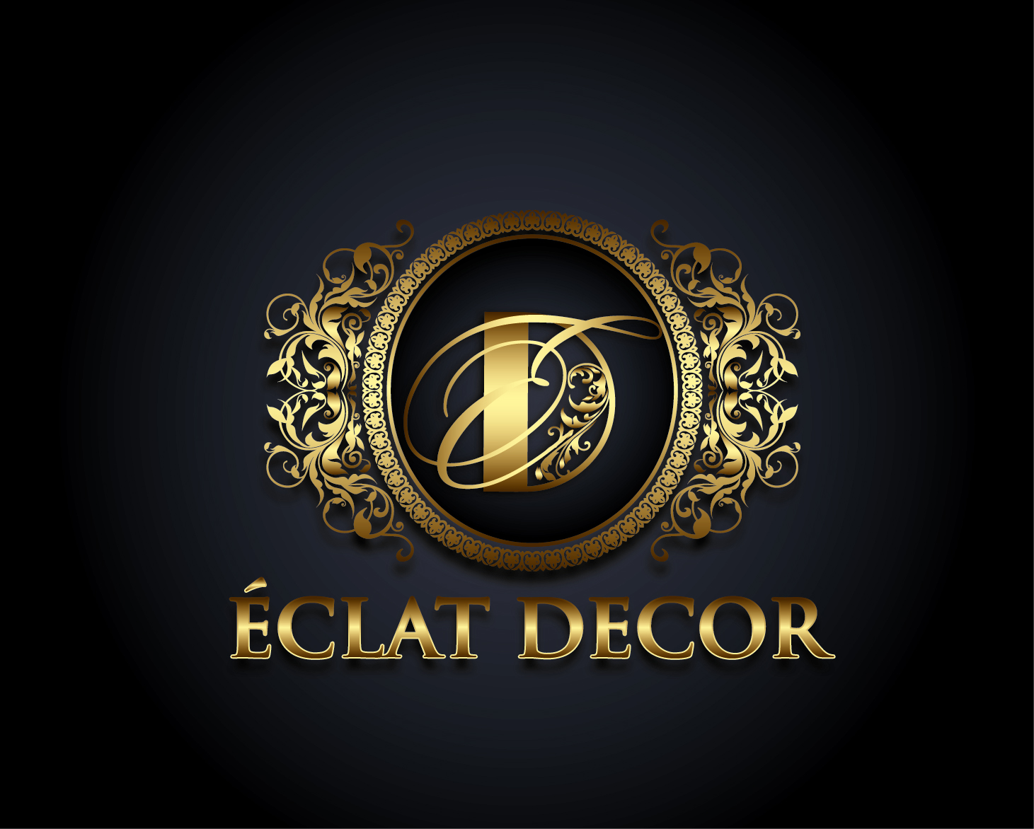 Logo Design by VENTSISLAV KOVACHEV - Entry No. 32 in the Logo Design Contest Imaginative Logo Design for Éclat Decor.