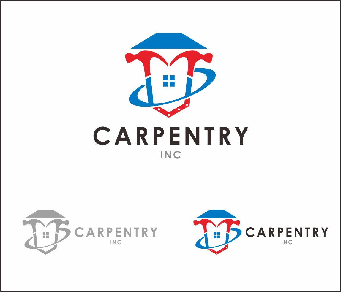 Logo Design by Armada Jamaluddin - Entry No. 58 in the Logo Design Contest Creative Logo Design for Carpentry inc..