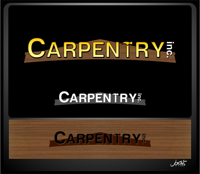 Logo Design by joca - Entry No. 59 in the Logo Design Contest Creative Logo Design for Carpentry inc..