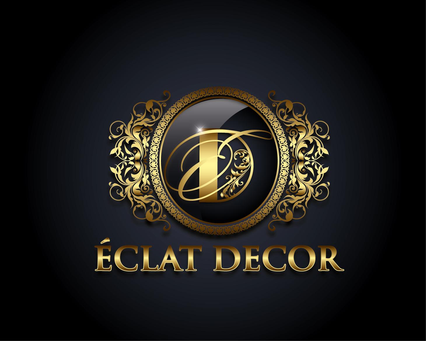 Logo Design by VENTSISLAV KOVACHEV - Entry No. 33 in the Logo Design Contest Imaginative Logo Design for Éclat Decor.