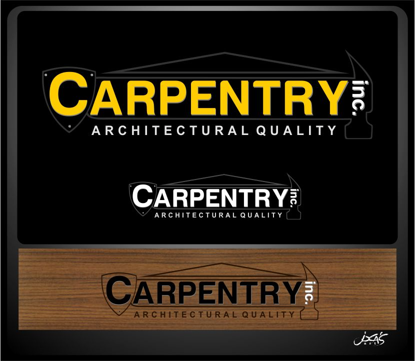 Logo Design by joca - Entry No. 60 in the Logo Design Contest Creative Logo Design for Carpentry inc..